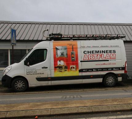 ARTFLAM, société spécialisée dans la vente de poêles près de Saint-Lô